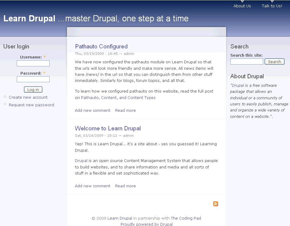 Building a Website with Drupal 6 – Part 9: Users, Roles, and